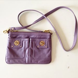 Marc by Marc Jacobs purple crossbody bag